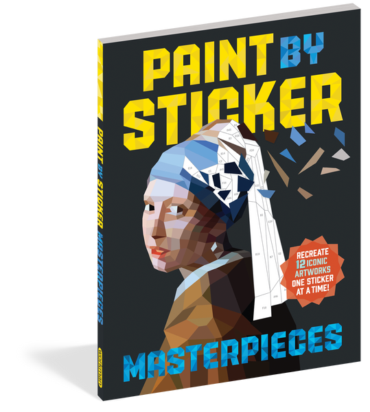 PAINT BY STICKER- MASTERPIECES