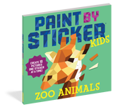 PAINT BY STICKER KIDS- ZOO ANIMALS