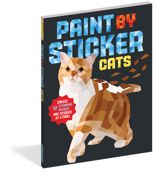 PAINT BY STICKER- CATS