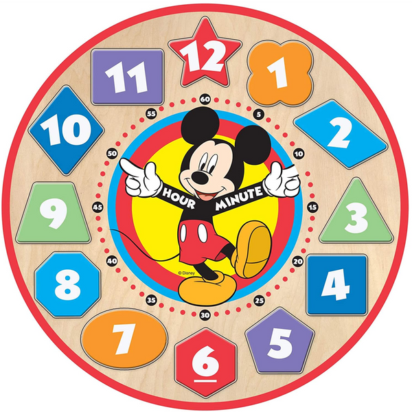 M&D MICKEY MOUSE SHAPE SORTING