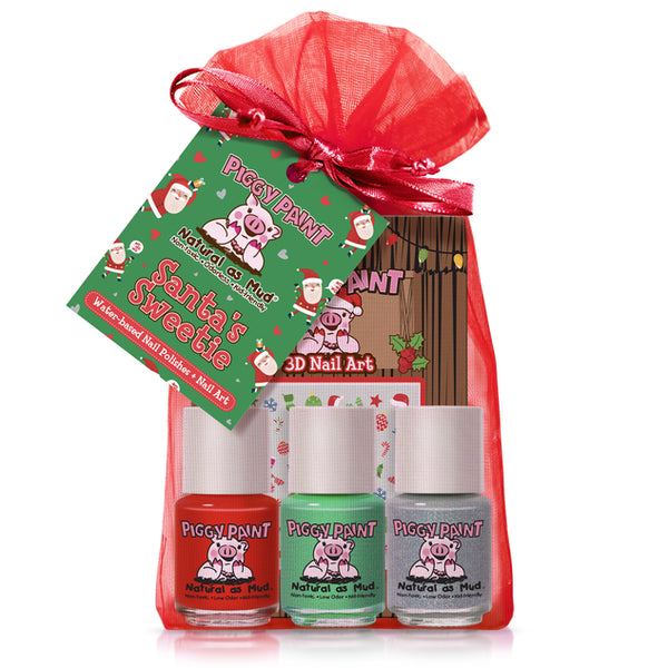 PIGGY PAINT SANTA'S SWEETIE GIFT SET