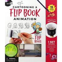 SPICEBOX- CARTOONING & FLIP BOOK
