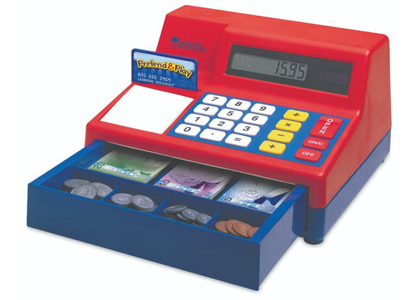 CALCULATOR CASH REGISTER W/CANADIAN CURRENCY
