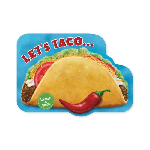 SCRATCH & SNIFF BIRTHDAY CARD TACO