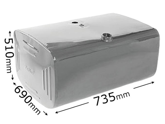 FUEL TANK 200 LITRE  (STEEL)