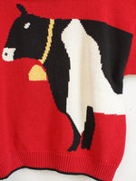 'Holy Cow!' Sweater