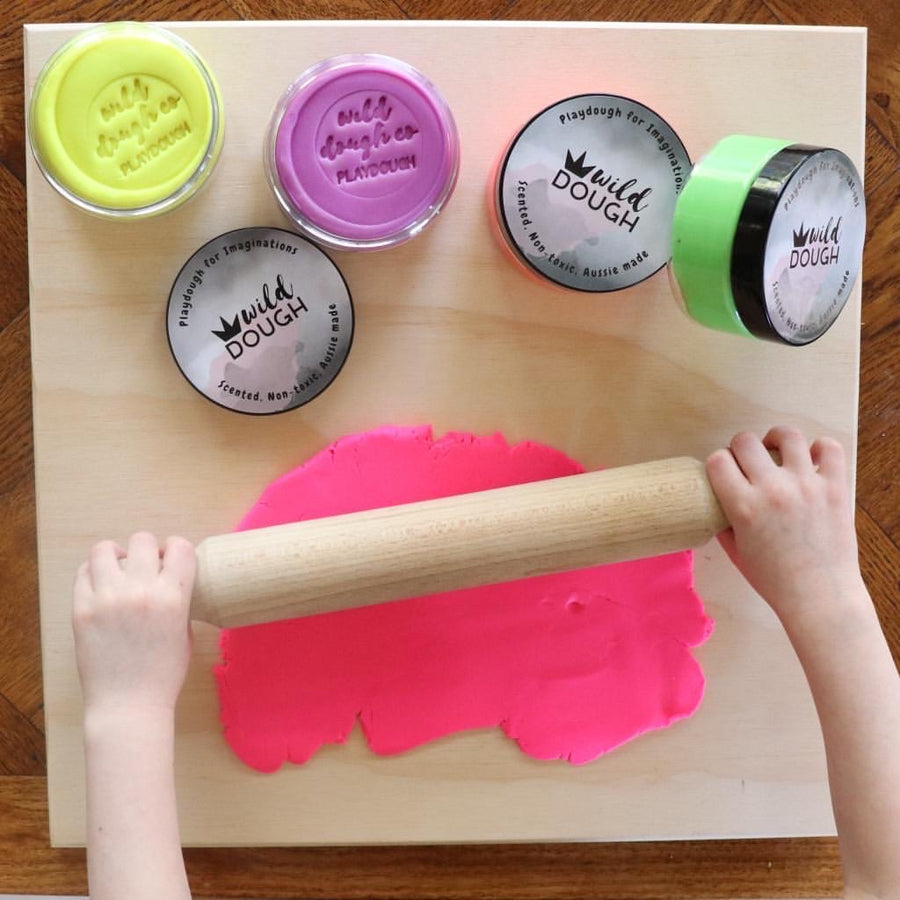 Neon Playdough Kit