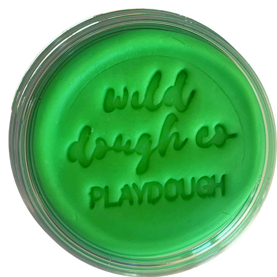 Neon Green Playdough