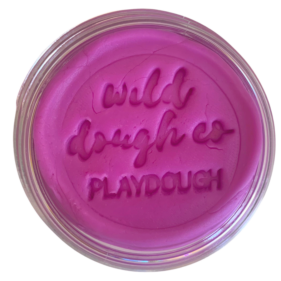 Neon Purple Playdough