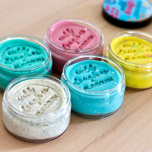 Glitter Playdough Kit