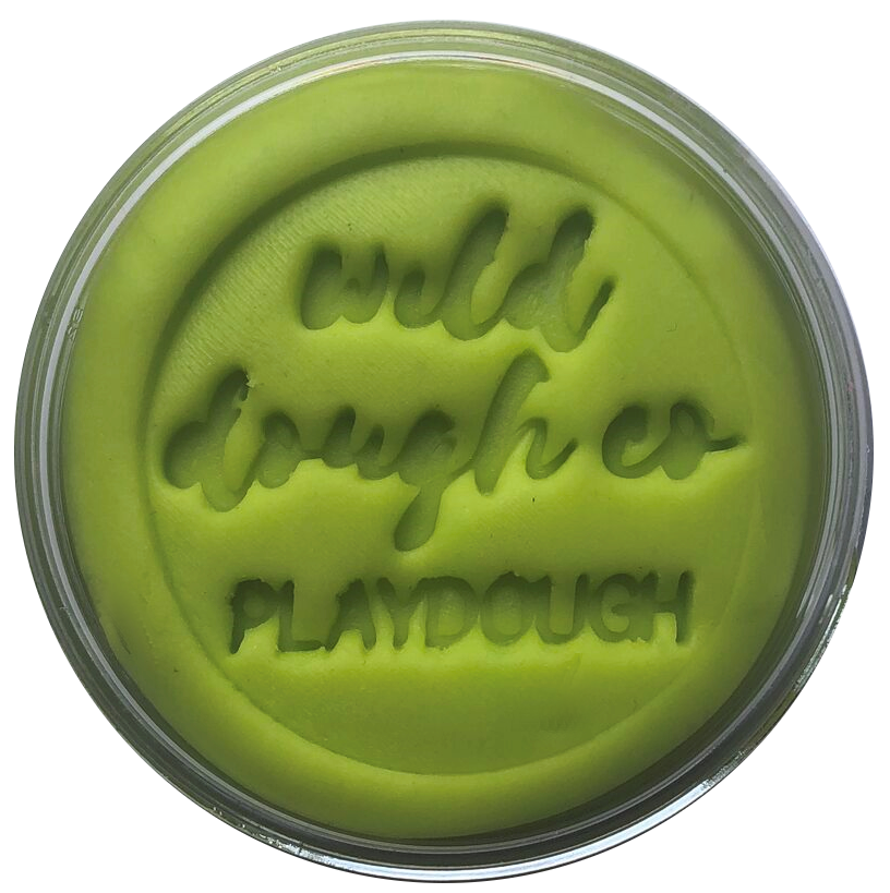 Lilypad Lime Playdough - Wild Dough Co