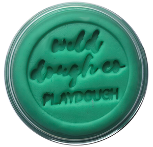 Sea Glass Teal Playdough - Wild Dough Co