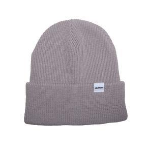 Druthers Beanie, Cardigan Knit, Light Grey