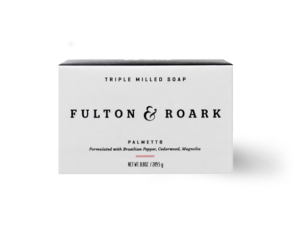 Fulton and Roark Palmetto Bar Soap