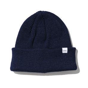 Druthers Beanie, Recycled Cotton Knit Navy
