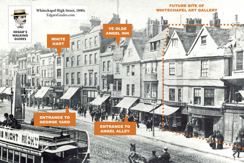 Whitechapel High Street Then And Now