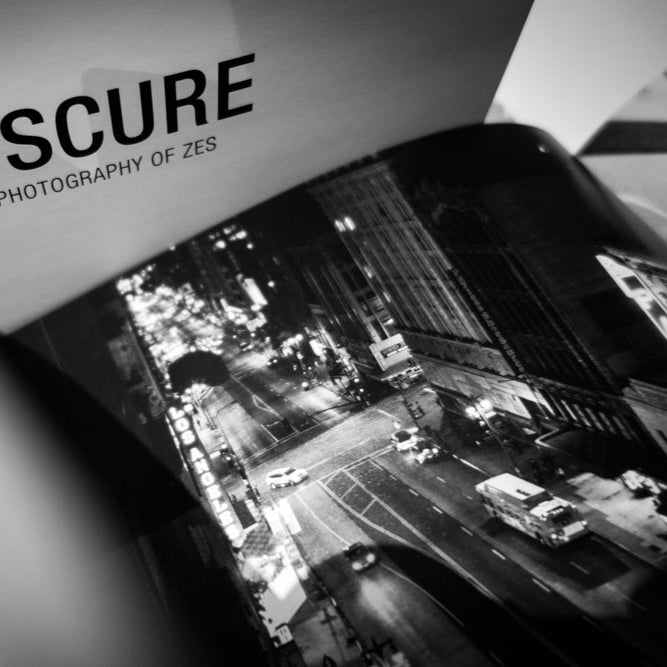 Obscure - The Photography of ZES Signed