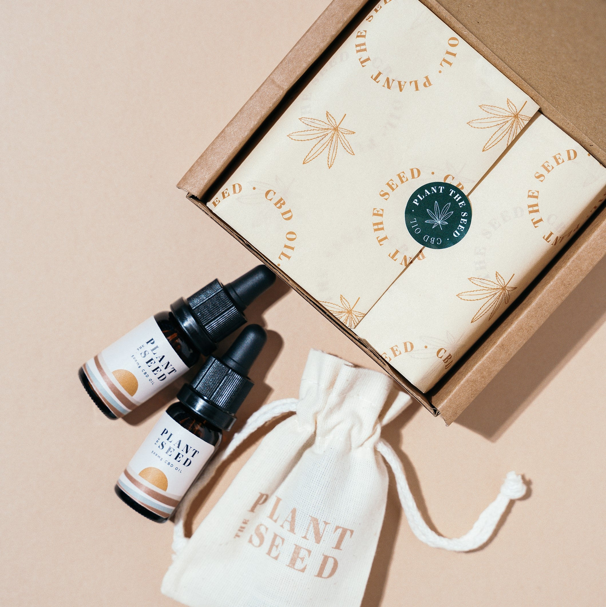 Plant The Seed CBD Products, Bed