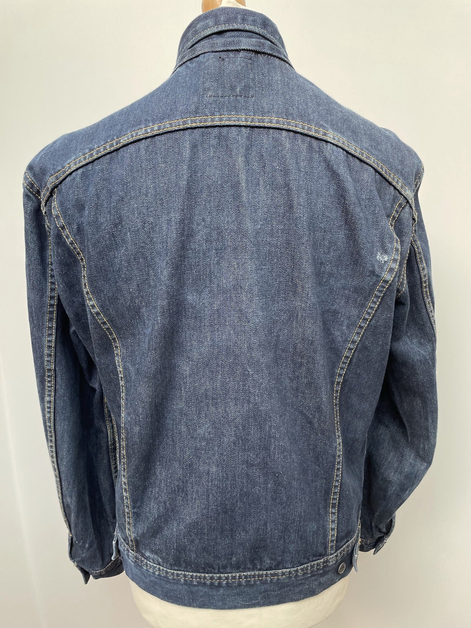 vintage  mens  Lee  l  Jacket  Denim jacket  denim  blue clothing urban village