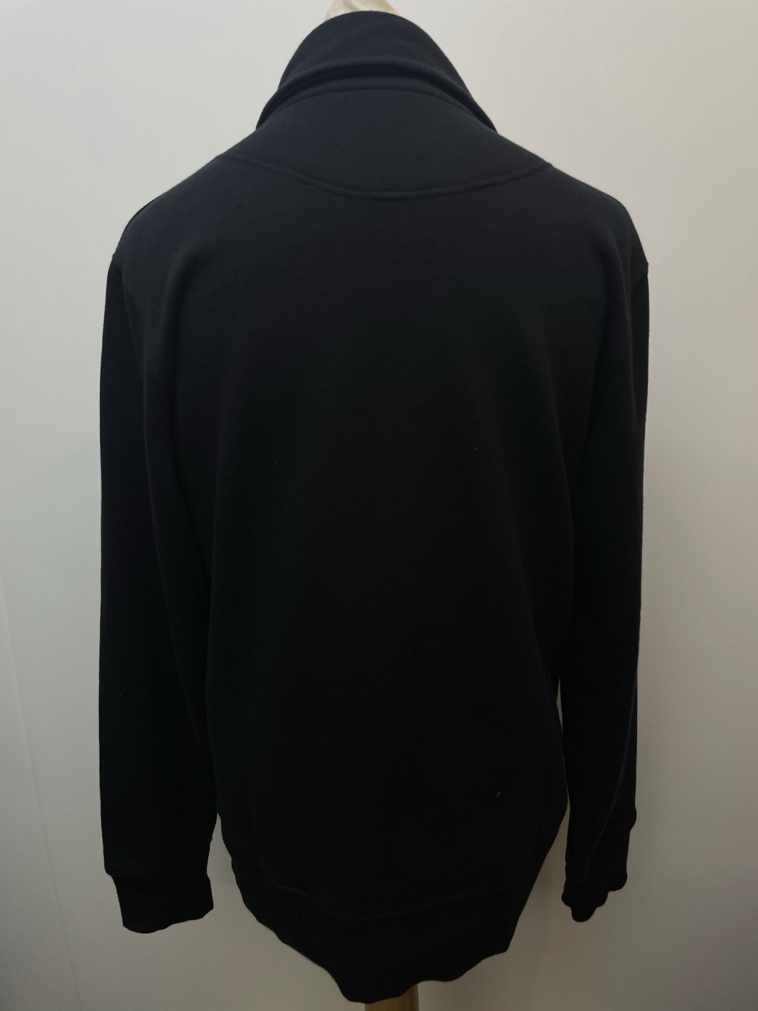 vintage  Urban Village Vintage  urban village  sweater  pullover  mens  l  jumper  Fred Perry  Cotton  black