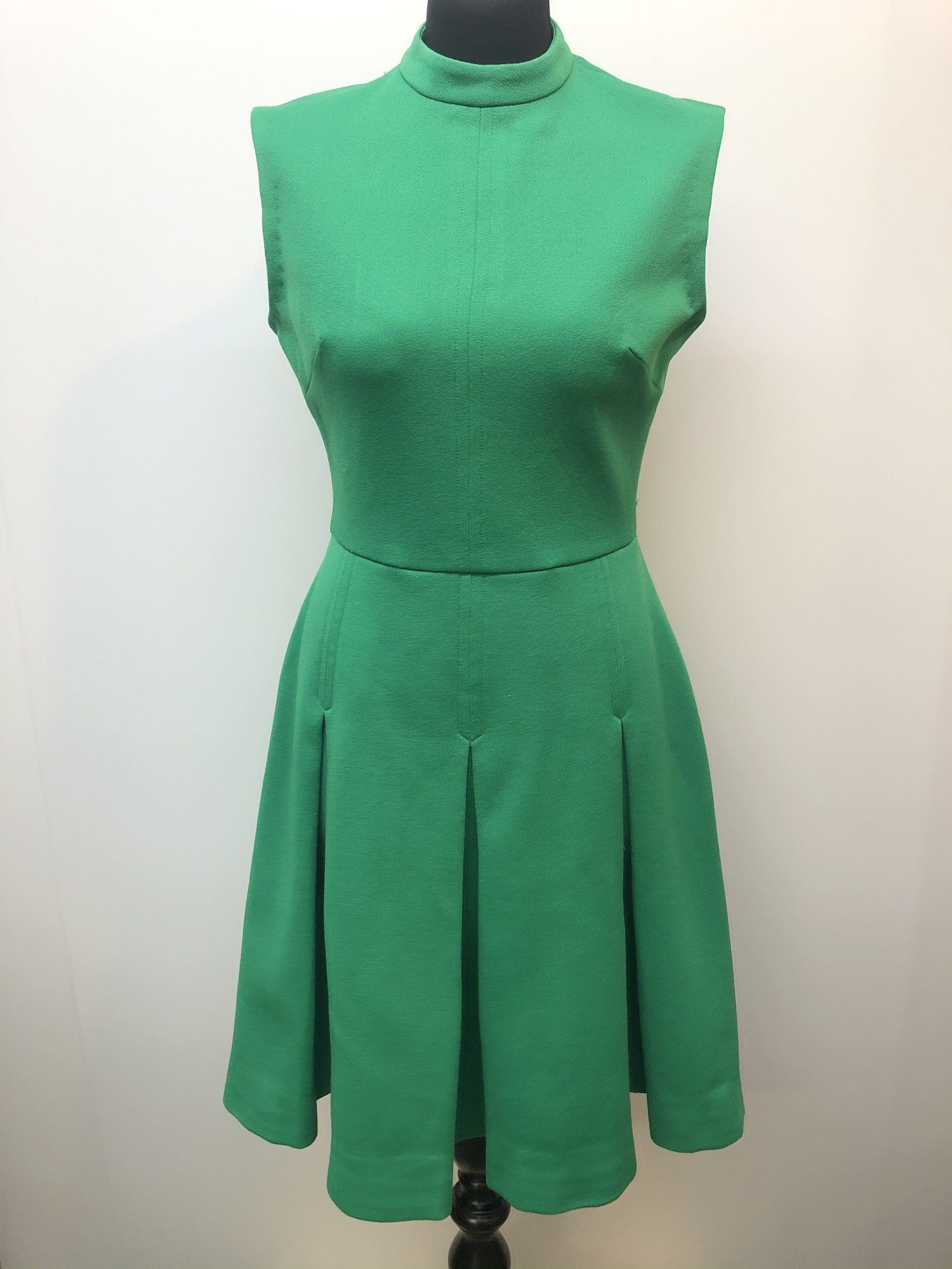 womens  vintage  retro  Mademoiselle  green  dress  60s  1960s  12 urban village vintage