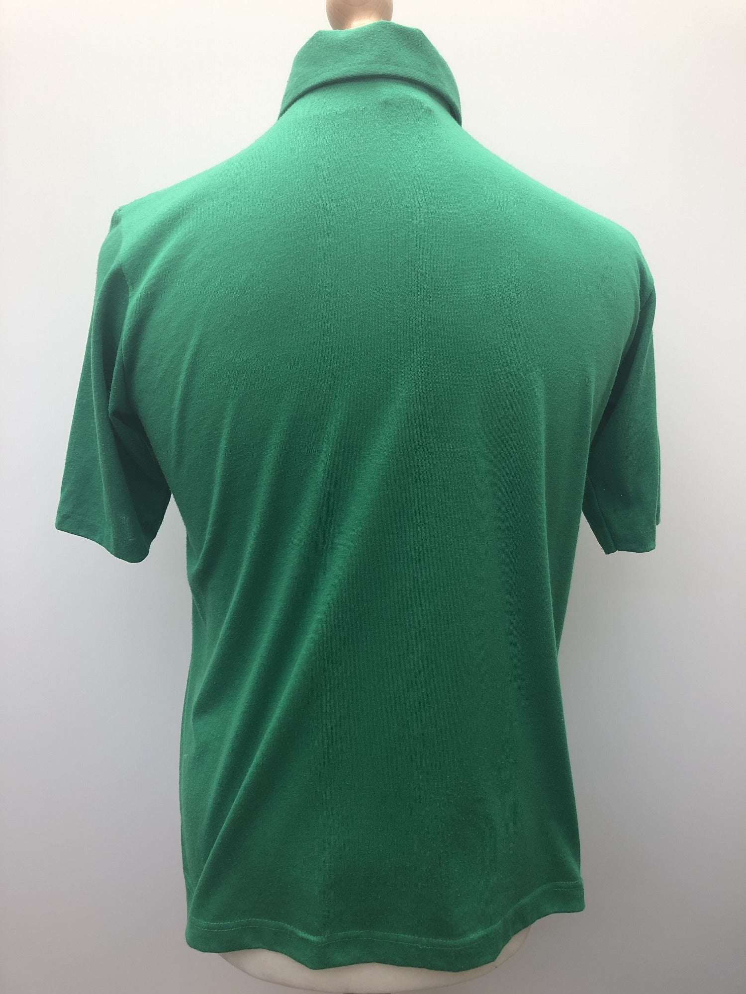 vintage  Urban Village Vintage  Three button  sportswear  sports polo  S  polo top  mens  Hartwell Sports  Green Urban village vintage