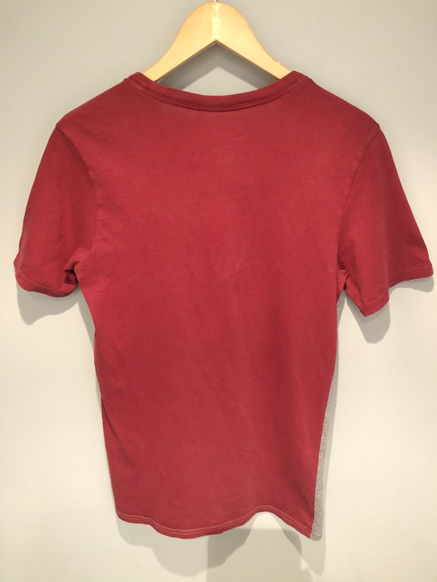 Nike Air Athletic Cut T-Shirt Red and Grey- Size S - Urban Village Vintage Sportswear