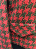 dogtooth womens vintage red MOD London Maid Jacket Green 60s 1960s 12 urban village vintage