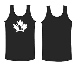 Black Tank Top with White logo