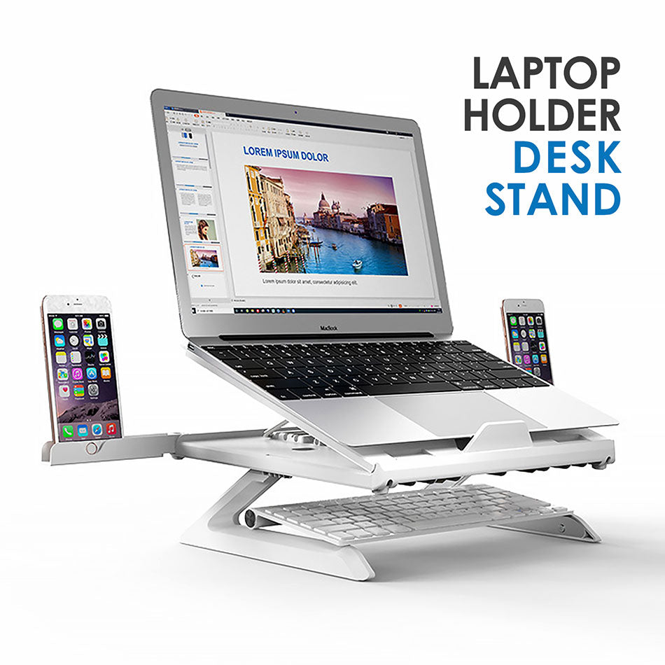 Multifunctional Portable and Foldable Laptop Stand