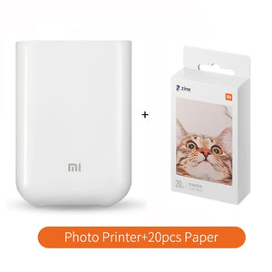Pocket Printer And Papers