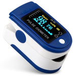 Finger Oxygen Monitor + Heart Rate Monitor