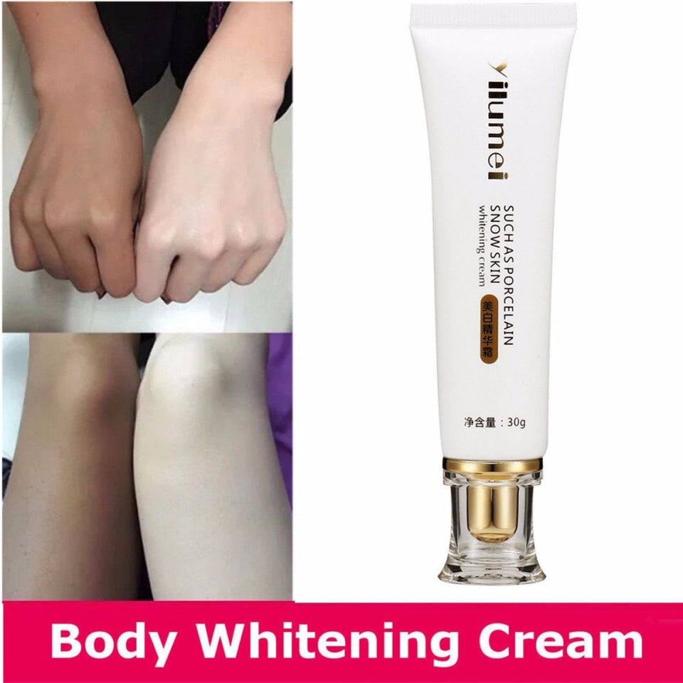 Dropshipping Powerful Whitening Lotion Bleaching Cream Essence Cream Legs Knees Private Parts Body Whitening Cream TSLM1