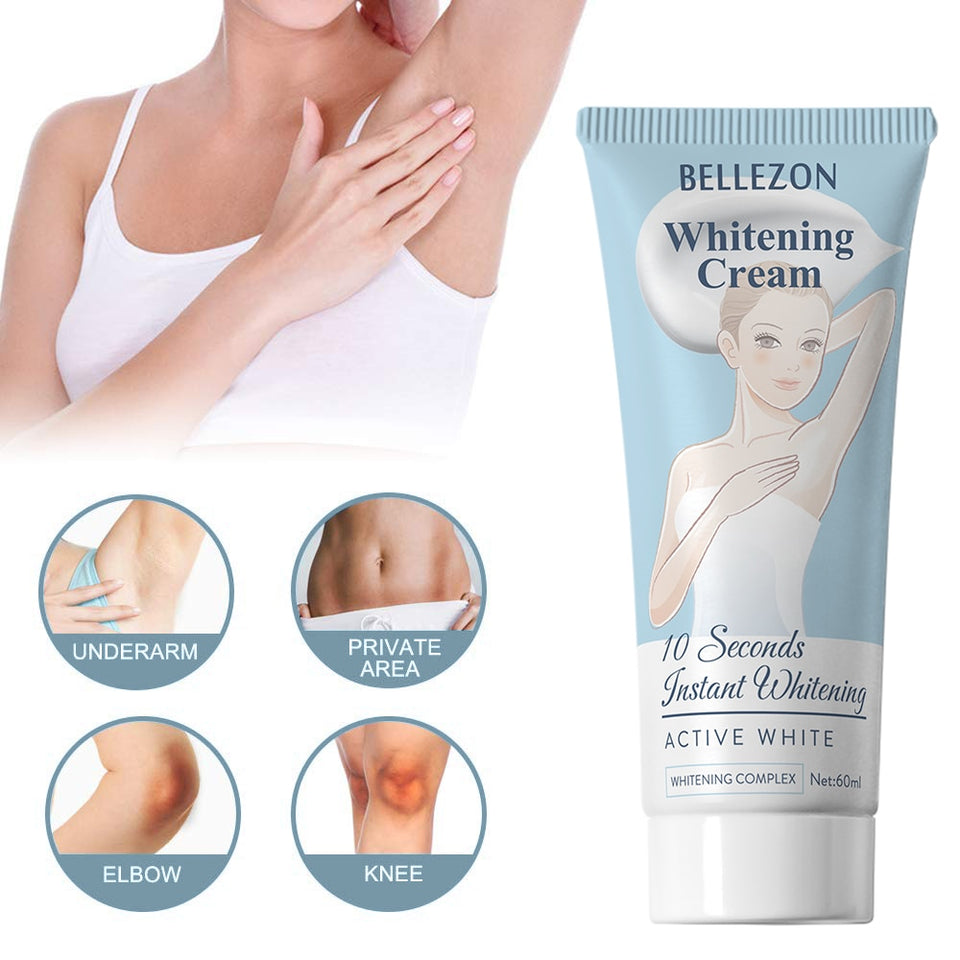 Body Creams Skin Armpit Whitening Cream Body Lotion Between Knees Private Parts Whitening Formula Armpit Whitener Intimate TSLM1
