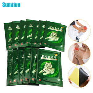 Sumifun 8/48/104Pcs Vietnam White Tiger Balm Medical Plaster Back Muscle Arthritis Pain Relief Patch C161