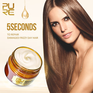 5 Seconds Hair Mask Treatment 60ml Keratin Repair Mask Nut Nourishing Argan Hair Oil Moisturizing Shiny Magic Hair Care