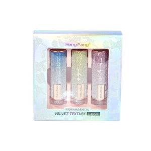 Twilight Charm Mist Lipstick Starry Matte 3 sets of boxes carved plants essence mirror net red H9396