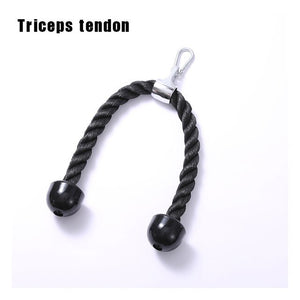 Fitness Equipment Arm  Biceps Triceps Blaster Cable Machine Attachments Pull Rope Wrist Roller Hand Gripper Strength Trainning