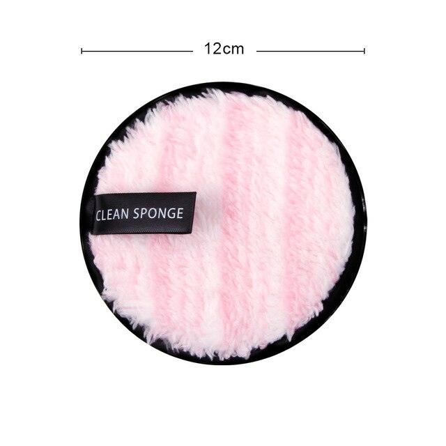 1/2pcs Makeup Remover Cloth Reusable Cleansing Wipe Bamboo Washable Makeup Pads Microfiber Face Wash Towel Skincare Tools