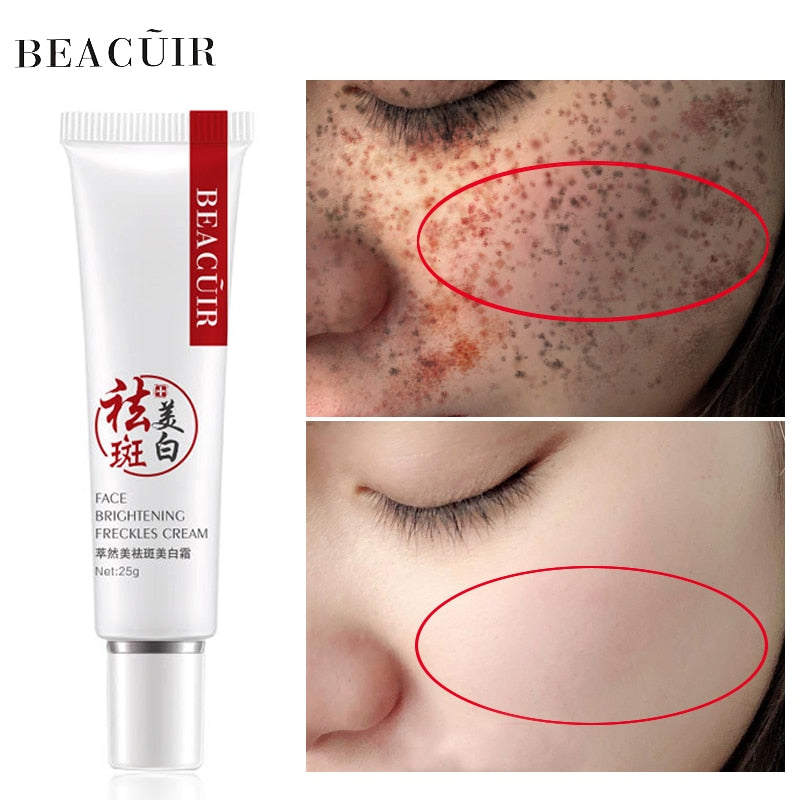 BEACUIR Collagen Freckles Whitening Face Cream hyaluronic acid Anti-Wrinkle Cream Remove Spots Firming Dark Circles Skin Care