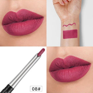 17 Colors Lip Liner Pencil Waterproof Long-lasting Pigment Lip Stick Colorful Lipliner Girl Cosmetics Beauty Makeup Tools TSLM1