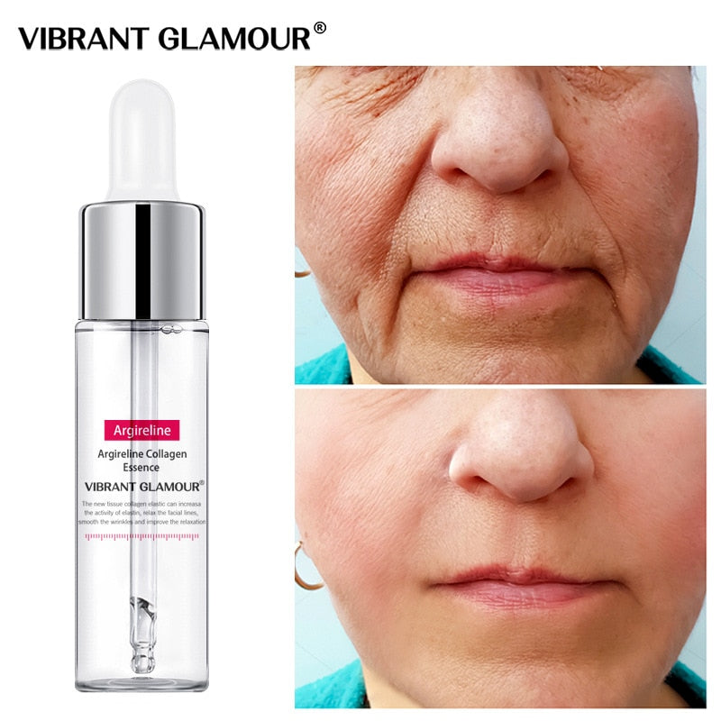 Anti Aging Collagen Face Serum Cream Anti-Aging Wrinkle Lift Firming Whitening Moisturizing Skin Care VIBRANT GLAMOUR