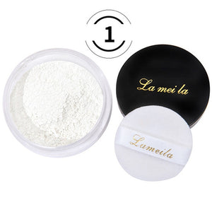 Translucent  Face Powder Loose Setting Waterproof Whitening Makeup Foundation Smooth Refreshing Mineral Loose Powder TSLM1