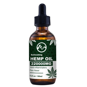 Minch 220000MG 50ml Hemp CBD Oil Bio-active Hemp Seed Oil Extract Drop for Neck Pain Relief Reduce Anxiety Better Sleep Skin Oil