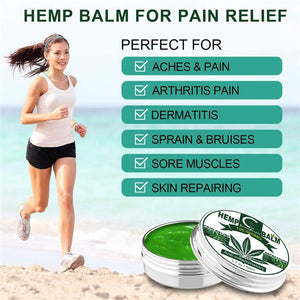 100000MG CBD Hemp Balm Pain Relief Cream Hemp Seed Oil Extract for Neck Pain Relief Reduce Anxiety Muscle