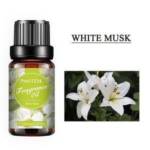 10ml Perfume Fragrance Essential Oil Diffuser White Musk Linen Coffee Coconut Lipgloss Flavoring Oil Sea Breeze Essential Oils