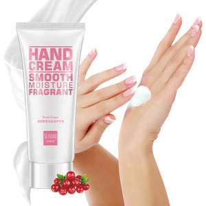 Cranberry Soft Hand Cream Lotions Serum Repair Nourishing Hand Skin Care Anti Chapping Anti Aging Moisturizing Whitening Cream