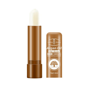 4ML Long-lasting Temperature Changed Colorful Nourish Moisturizing Lipstick Makeup Beauty Reduce Fine Lines Relieve Dryness Lip