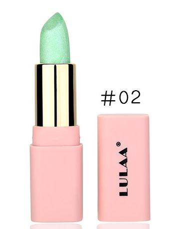 LULAA Colorful Glitter Metallic Lipstick Long Lasting Shiny Highlighter Waterproof Lip Stick Waterproof Makeup Cosmetic