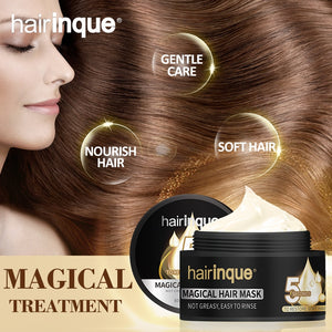 HAIRINQUE 50ml Magical treatment hair mask moisturizing nourishing 5 seconds Repair hair damage restore soft hair care mask
